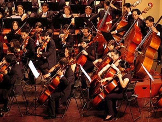 越南河内大剧院举行三个特别节目庆祝9•2国庆节71周年 hinh anh 1