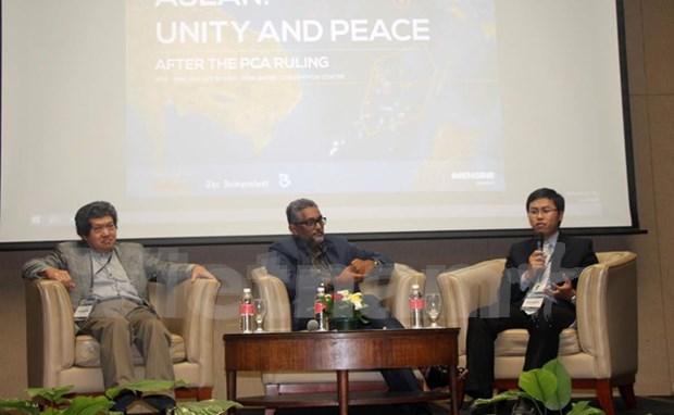 有关东盟团结与和平的国际座谈会在马来西亚举行 hinh anh 1
