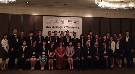 河内证券交易所出席2016年大湄公河次区域证券交易所所长级会议 hinh anh 1