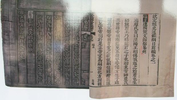 """""""历代国号和京都""""展览会在顺化举行 hinh anh 1"""