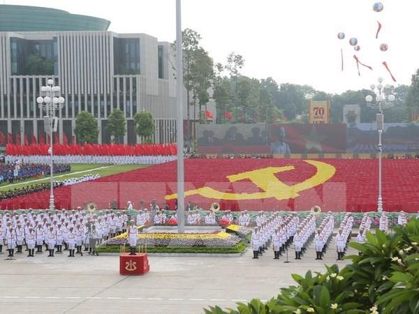 各国领导人致电庆祝越南国庆71周年 hinh anh 1
