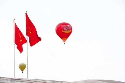国际热气球节首次在山罗省举行 hinh anh 2