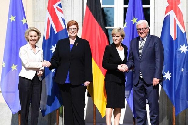 澳大利亚与德国呼吁各方遵守国际法 和平解决东海争端 hinh anh 1