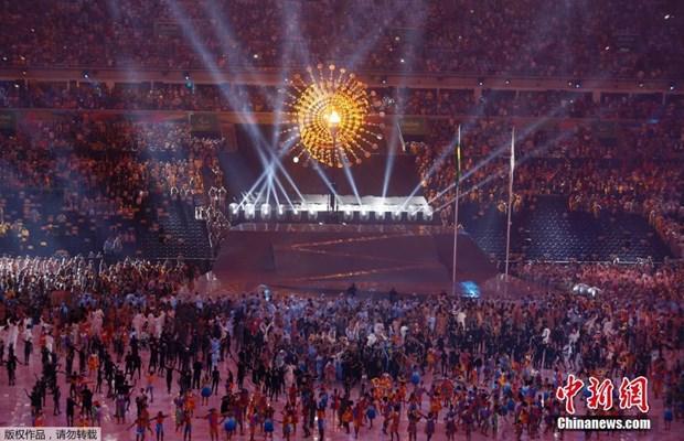 第十五届残奥会在巴西里约开幕 hinh anh 1