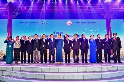 第12届胡志明市国际旅游博览会正式开幕 hinh anh 1
