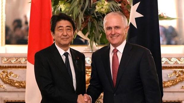 日本和澳大利亚强调东海问题的共同立场 hinh anh 1