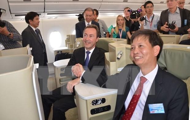空中客车总裁:越南成为空中客车的重要伙伴 hinh anh 1