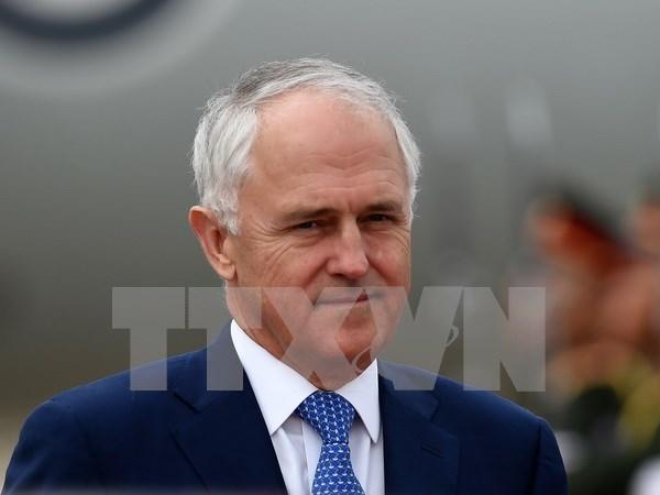 澳大利亚总理呼吁有关各方通过和平方式解决东亚和东海争端 hinh anh 1