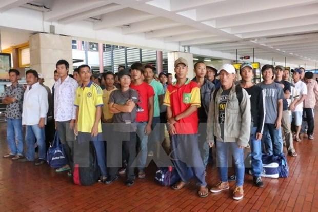 印尼首次在海上释放越南渔民 hinh anh 1