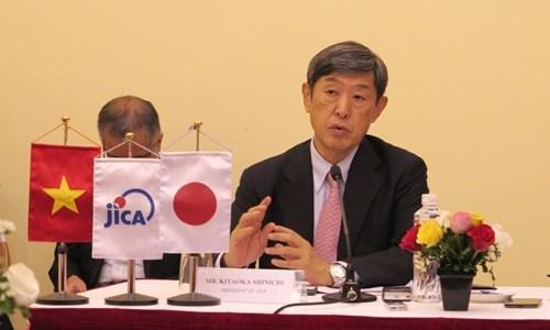 日本国际协力机构主席:日越应合作有效利用官方发展援助资金 hinh anh 1