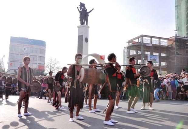 邦美蜀咖啡节和西原锣钲文化节即将同时举行 hinh anh 1