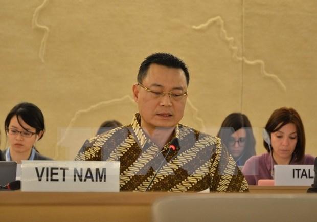 越南十分重视人权教育工作 hinh anh 1
