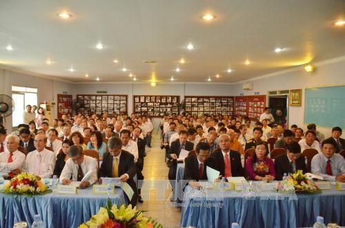 越裔柬埔寨人总会召开第二次代表大会 hinh anh 1