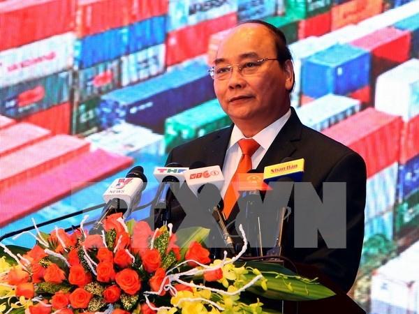 阮春福总理出席海防市投资促进会议 hinh anh 1