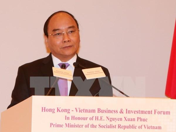 阮春福总理访华续:越南为外国投资者敞开大门 hinh anh 1