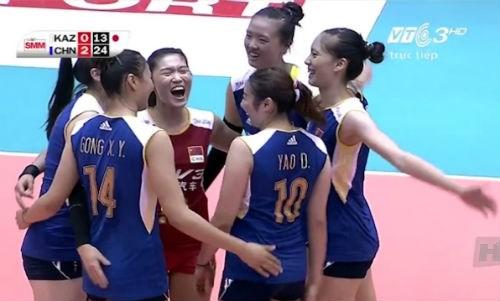 中国队夺得2016年亚洲女排锦标赛冠军 hinh anh 1