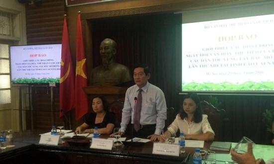 第十三次西北地区各民族文化体育与旅游节于10月初在老街省举行 hinh anh 1