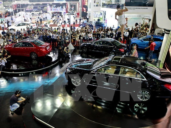 越南最大国际车展将于10月底举行 hinh anh 1