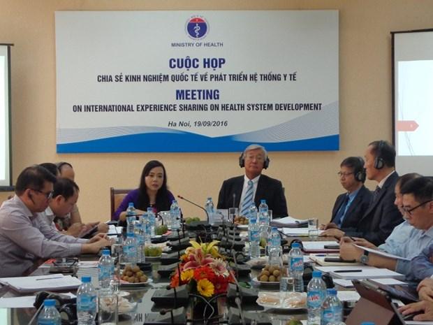 世卫组织同越南卫生行业分享地方医疗卫生体系的发展经验 hinh anh 1