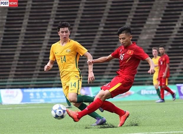 2016年亚洲U16足球锦标赛:越南队3比2逆转取胜 hinh anh 1