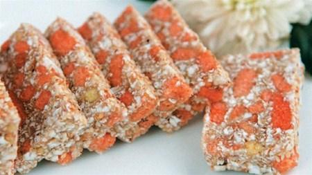 阮村的螃蜞饼:太平省的特产 hinh anh 1