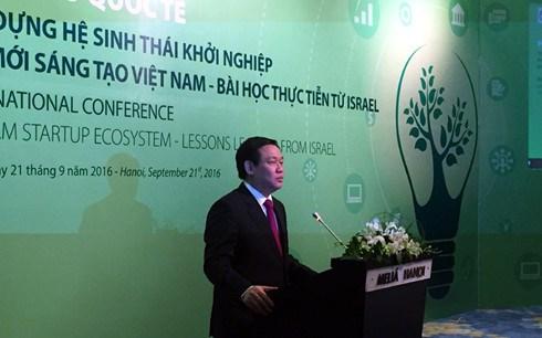 借鉴以色列经验 构建越南创新创业生态系统 hinh anh 1