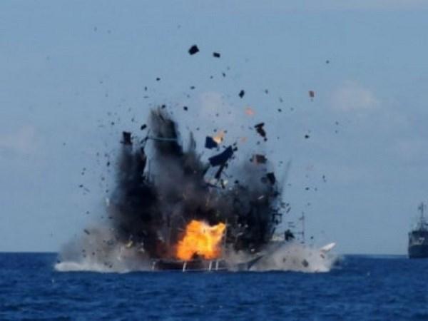 印尼与美国拟进行海上联合巡逻 hinh anh 1