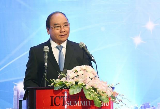 越南政府总理阮春福出席2016年信息传媒技术高级论坛 hinh anh 1