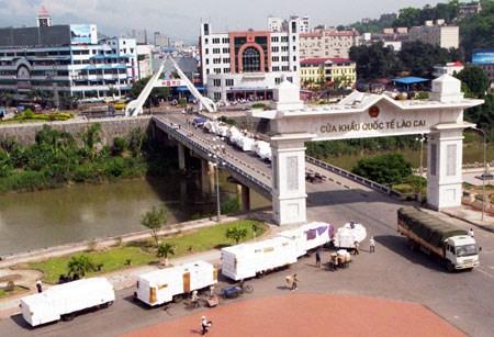 越南拟扩大与中国接壤的老街口岸经济区规模 hinh anh 1