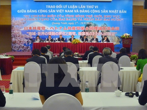 越日两国共产党召开第六次理论交流会议 hinh anh 1