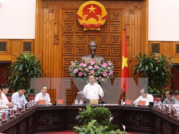 政府总理阮春福:清化省力争成为全国的中等发达省份 hinh anh 1
