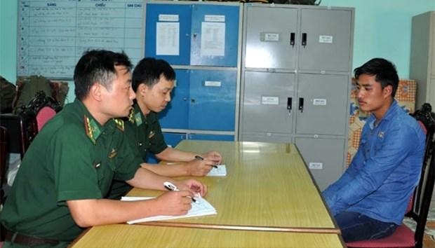 越南河江省边防部队在越中边境地区成功破获一起贩卖人口案件 hinh anh 1