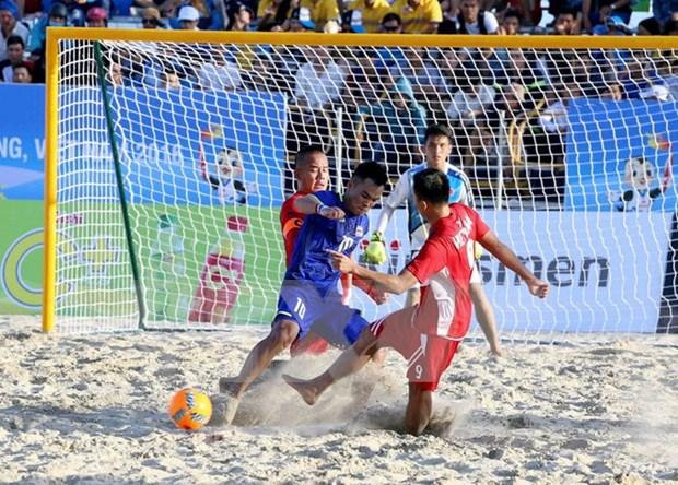 第5届亚洲海滩体育大会:越南体育代表队在奖牌榜上排名第一 hinh anh 1