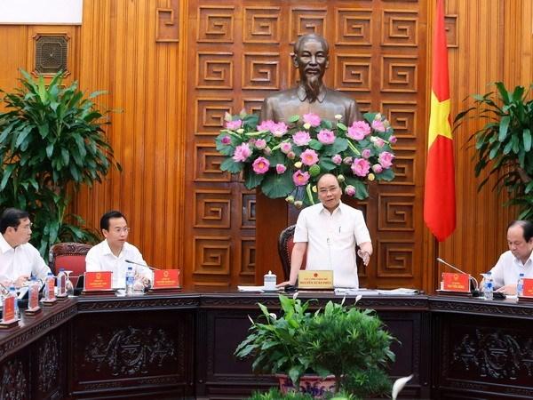 越南政府总理阮春福:力争将岘港市建设成为智慧城市和竞争力强的城市 hinh anh 1
