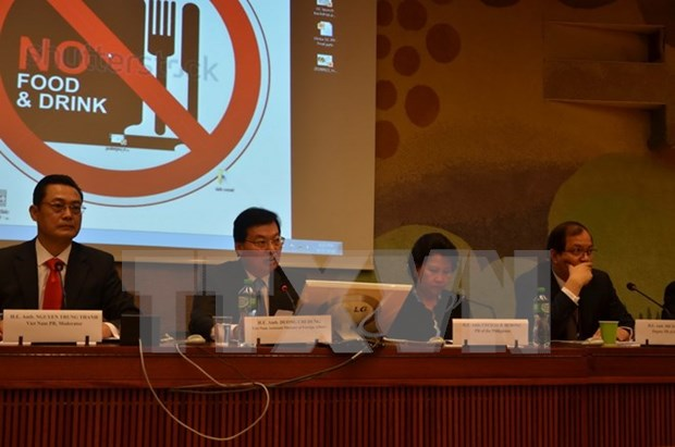 越南在日内瓦举行有关打击人口拐卖的国际座谈会 hinh anh 1