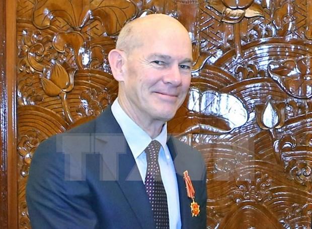 世界宣明会荣获越南国家主席的友谊勋章 hinh anh 1