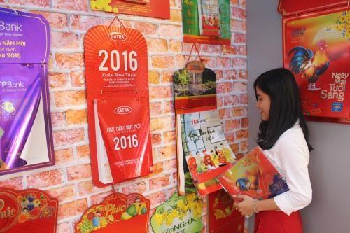 2017年日历展在胡志明市举行 hinh anh 1