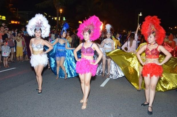 岘港市街头舞蹈节热闹举行 hinh anh 1