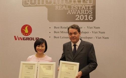 越南Vingroup集团获得《欧洲货币》杂志三大殊荣 hinh anh 1