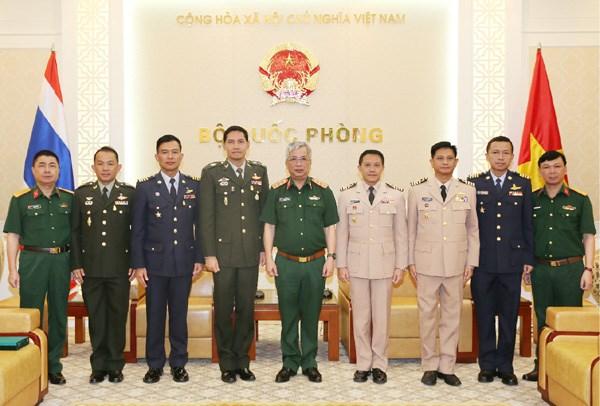 越南国防部副部长阮志咏:越南重视发展越泰防务合作关系 hinh anh 1