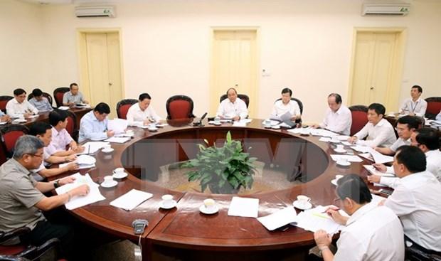 阮春福总理要求提高供电能力 促进经济增长 hinh anh 1