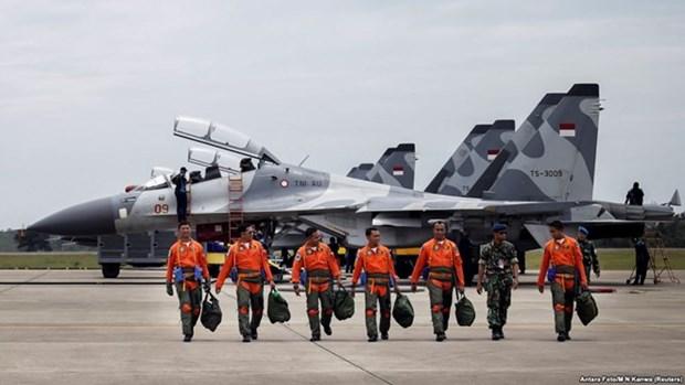 印尼举行大规模空军演习 为应对潜在威胁与各种挑战作出准备 hinh anh 1