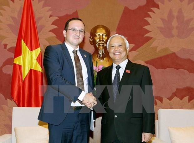 进一步加强越罗两国立法领域的合作 hinh anh 1