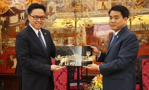 河内市计划邀请柬埔寨艺术代表团赴该市步行街演出 hinh anh 2