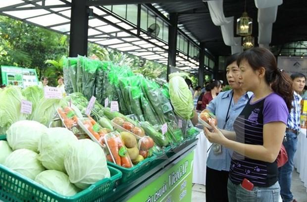 农产品展销会--生产商和销费者对接的桥梁 hinh anh 1