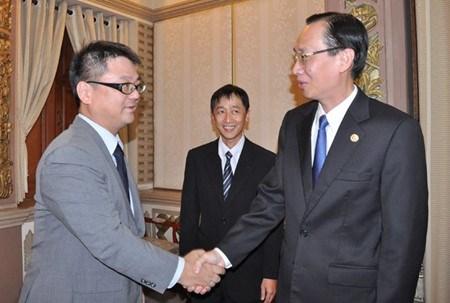 日本企业代表团在胡志明市寻找投资机会 hinh anh 1