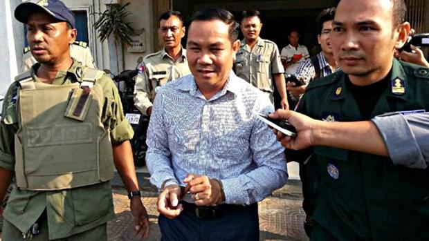 柬埔寨反对党救国党议员温森安被判处有期徒刑两年六个月 hinh anh 1
