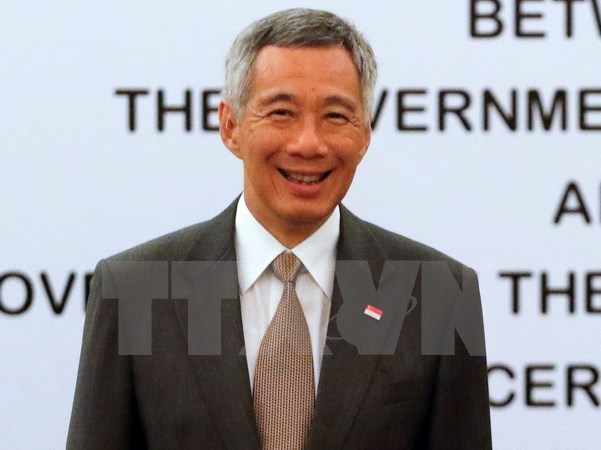 新加坡总理李显龙对澳大利亚进行正式访问 hinh anh 1