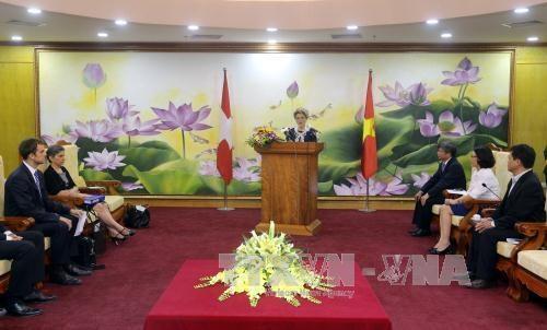 越南瑞士发展合作战略对外公布 hinh anh 1