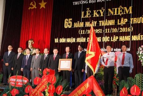 河内师范大学第二次荣获一级独立勋章 hinh anh 1